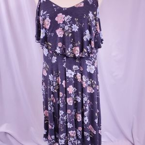 Torrid floral hacci knit dress